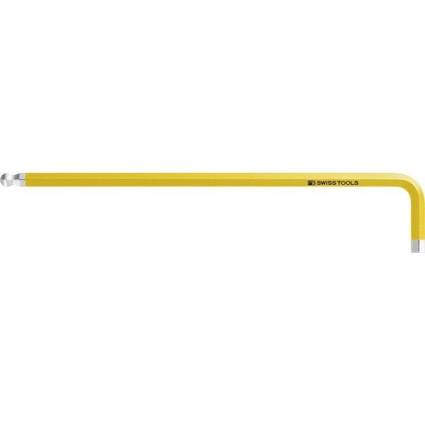 PB SWISS 信憑 TOOLS 212ZL-3 16YE ボール付レインボーレンチ ロング PBスイスツールズ 公式ストア 黄色