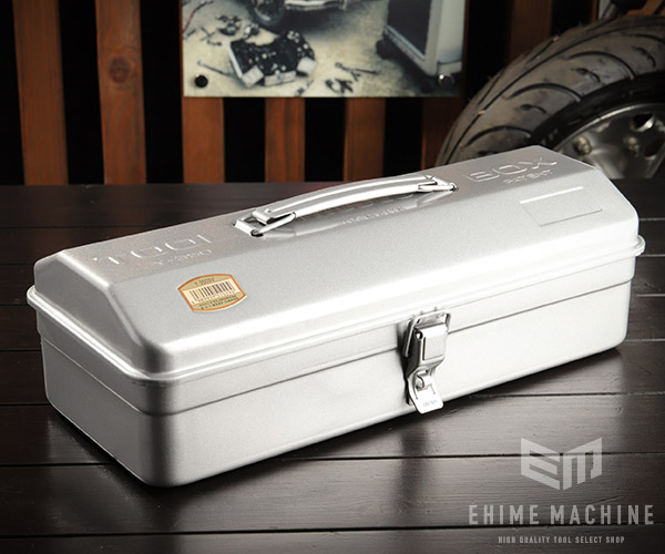 TRUSCO 商店 Y-350 山型工具箱 シルバー 銀 トラスコ ☆最安値に挑戦 373×164×124mm