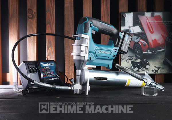 YAMADA EG-400B2 電動式グリースガン(蛇腹グリース用) 855004