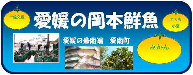 愛媛の岡本鮮魚:愛媛・愛南町産を産地直送便で全国にお届けします!
