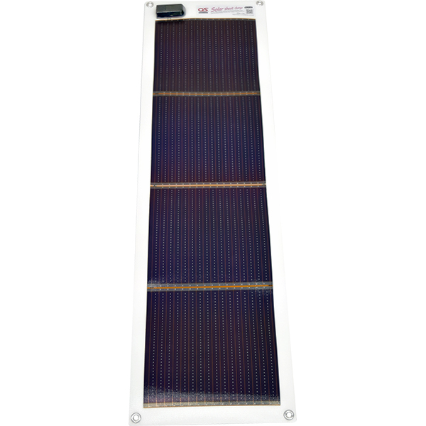 日本製 10.8W どこでも発電 OS オーエス ソーラーシートチャージャー GN-100