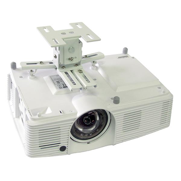 【プロジェクター 天吊】小型軽量 プロジェクター用天吊金具 HPC-005U