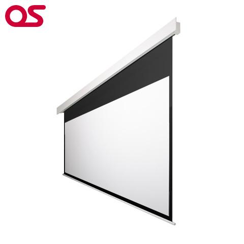 【スクリーン】150インチ 電動 スクリーン(ウルトラビーズ) OS オーエス SEP-150HM-MRK2/MRW2-BU201(黒/白パネル)