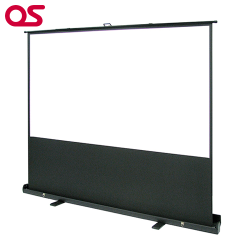 OSスクリーン【自立型 80インチ プロジェクタースクリーン/パンタグラフ方式】 OS オーエス 80インチ(マスク付)SMS-080HM-P1