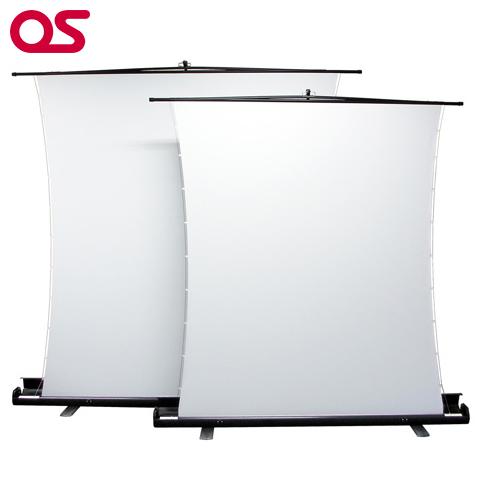 OSスクリーン【自立型 83インチ サイドテンション プロジェクタースクリーン】OS オーエス 83インチ(アスペクトフリー)SVS-83FN-H