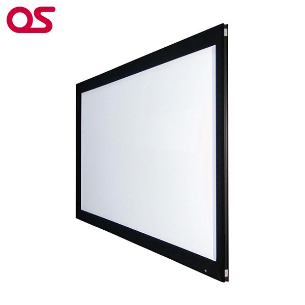 【スクリーン】OS オーエス 100型 張込 スクリーン PA-100H-01-WF204(ブラック塗装枠)