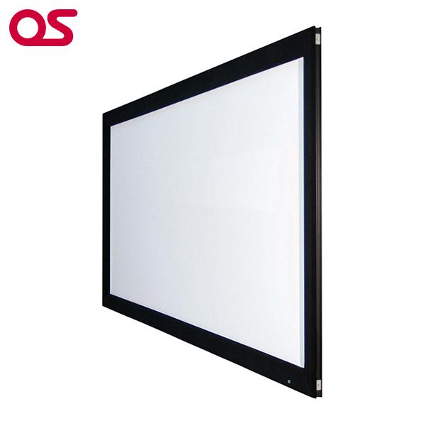 【スクリーン】80インチ 張込 スクリーン(ウルトラビーズ) OS オーエス PA-080H-02-BU201(フロッキー枠)