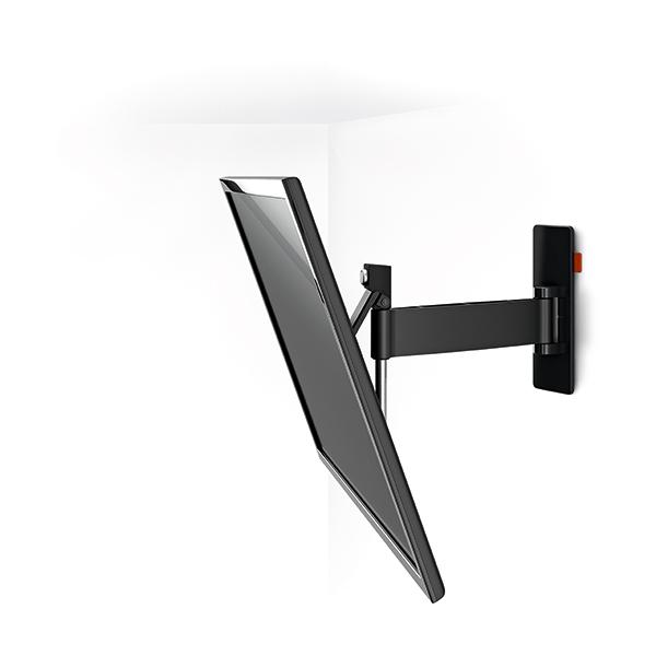 Vogel's ボーゲルズ 中型 32~55型 テレビ 壁掛け 金具 WALL3225(壁付・シングルアーム 首振り120°回転)