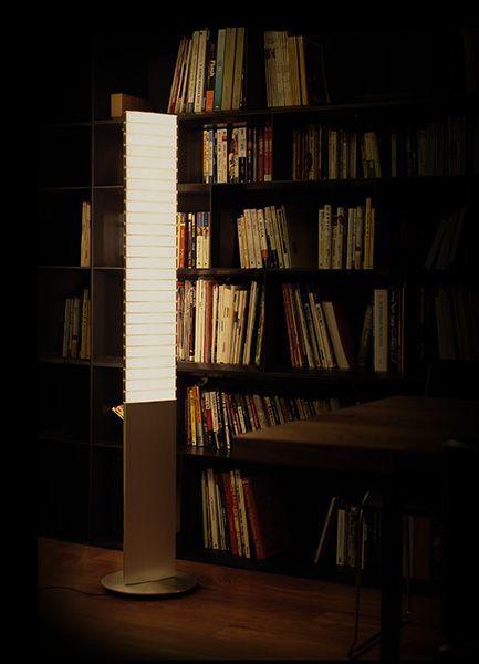 【LEDライト】QisDesign(キスデザイン) LED照明 | Piano Floor(ピアノ・フロアランプ) PA01_F
