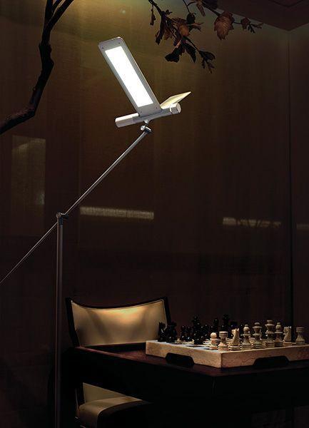 【LEDライト】QisDesign(キスデザイン) LED照明 | Seagull Floor(シーガル・フロアランプ) BD10_F