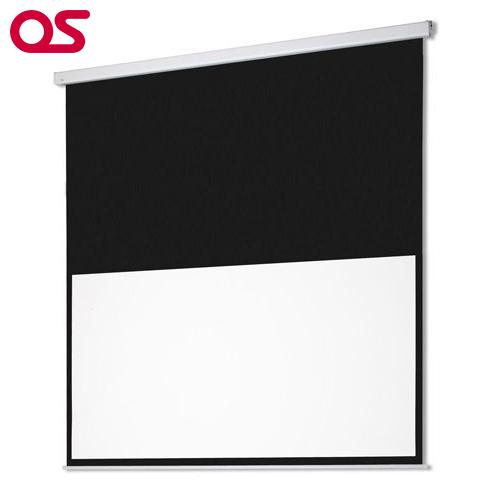 安心のブランド【OSスクリーン】OS オーエス 80インチ 電動スクリーン SEC-080HM-R2-WG(アスペクト比16:9)
