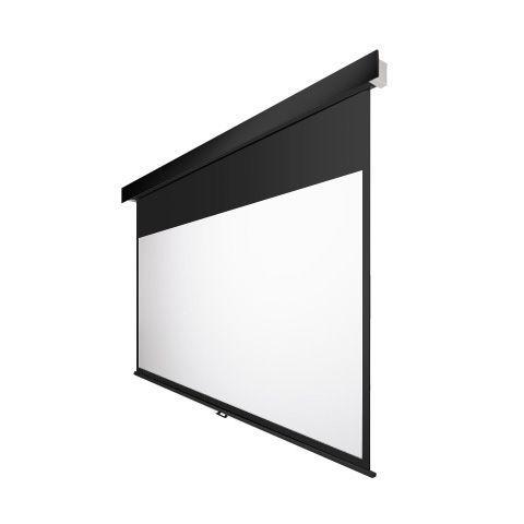 OS オーエス120型手動スクリーン SMP-120HM-K1-WF204/ SMP-120HM-W1-WF204(黒/白パネル)