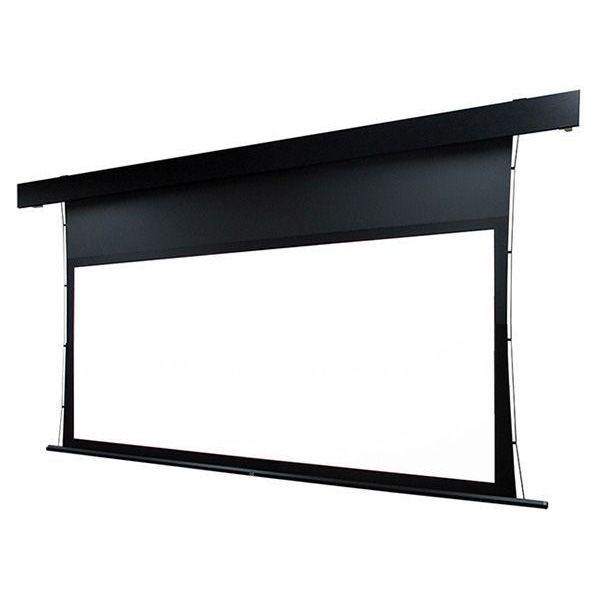 【スクリーン】OS オーエス 140型 シネスコ サイドテンション 電動スクリーン STP-140LM-MRK2-WF302(黒パネル)