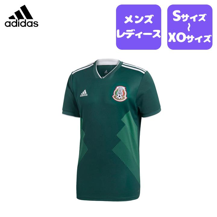 adidas (アディダス) メキシコ代表レプリカユニフォーム W杯 メンズ レディース ユニセックス マルチスポーツ サッカー フットサル ワールドカップ グッズ dsz93 【追加アイテム】