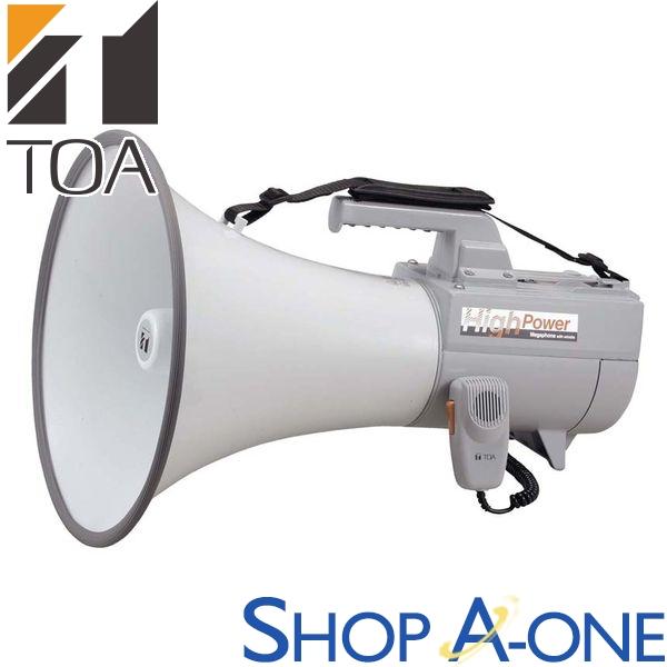 TOA トーア ショルダーメガホン 30Wホイッスル音付ER-2130W