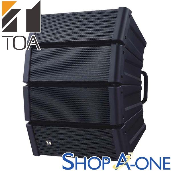 TOA トーア コンパクトアレイスピーカー 黒 屋外用HX-5B-WP