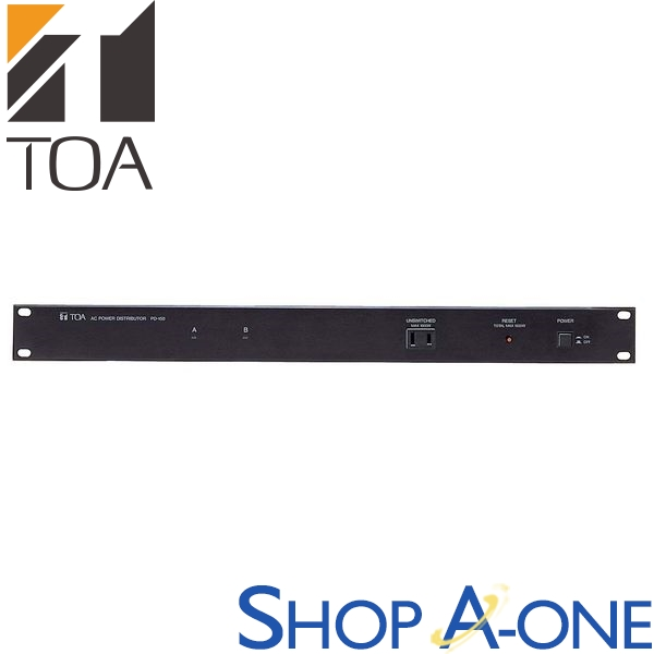 TOA トーア 主電源パネルPD-150