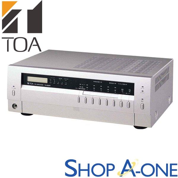 TOA トーア 卓上型アンプ 30W 5局 ラジオ付TA-2030R