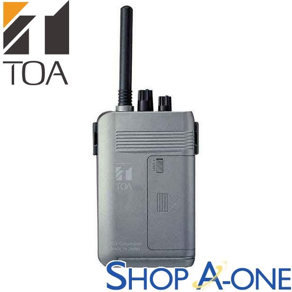 TOA トーア ワイヤレスガイド携帯型受信機WT-1100