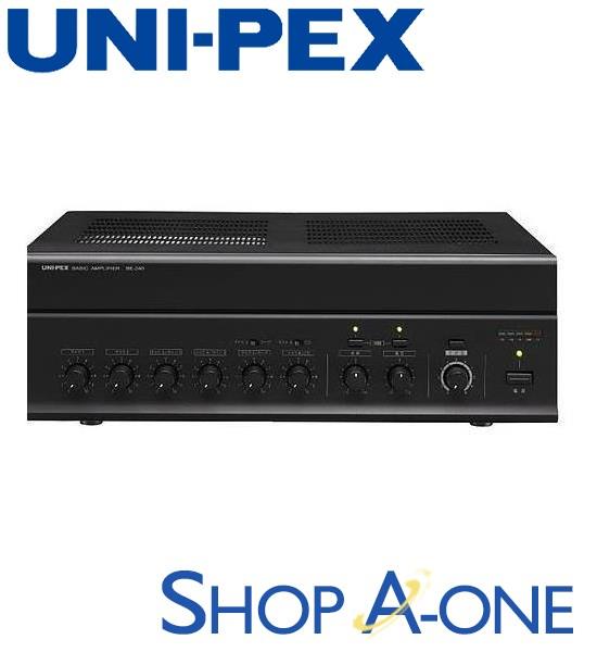 ユニペックス UNI-PEX 卓上形ベーシックアンプ:卓上形ベーシックアンプBE-240