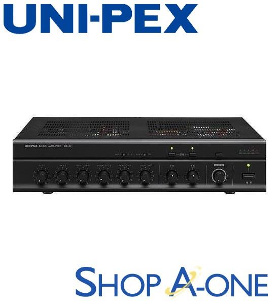ユニペックス UNI-PEX 卓上形ベーシックアンプ:卓上形ベーシックアンプBE-60
