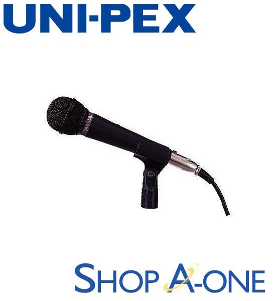 ユニペックス UNI-PEX ダイナミックマイクロホン:ダイナミックマイクロホンMD-57