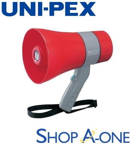 ユニペックス UNI-PEX メガホン:6W防滴メガホンTR-215SA