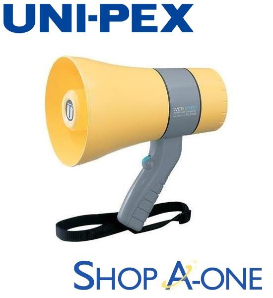 ユニペックス UNI-PEX メガホン:6W防滴メガホンTR-215WA