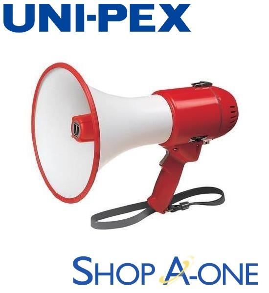 ユニペックス UNI-PEX メガホン:15WメガホンTRM-119