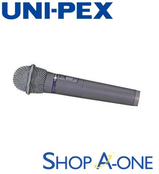 ユニペックス UNI-PEX 800MHzワイヤレスマイク:ワイヤレスマイクロホンWM-8030A