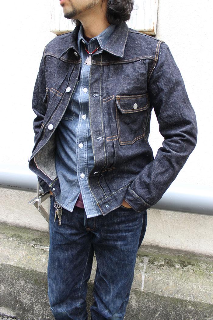 4d38e818 ... A denim jacket G Jean 2nd model [8JK-02] man denim second domestic ...
