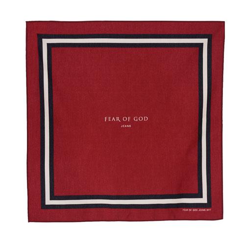 FEAR OF GOD - SIGNATURE SCARF ロゴ スカーフ バンダナ フィアオブゴッド