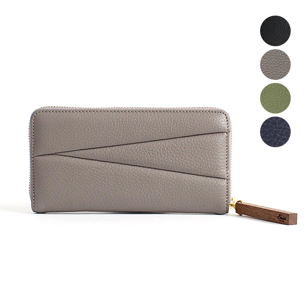 Ense(アンサ)zipper wallet ラウンドファスナー ロングウォレット ew-120 / 全3色 市場