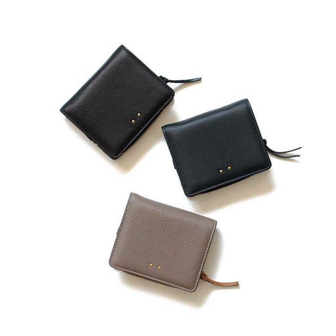 [財布]二つ折り財布(小銭入れあり)Ense(アンサ) ディアレザー二つ折りウォレット D-705 / 全3色 2202【送料無料】 市場