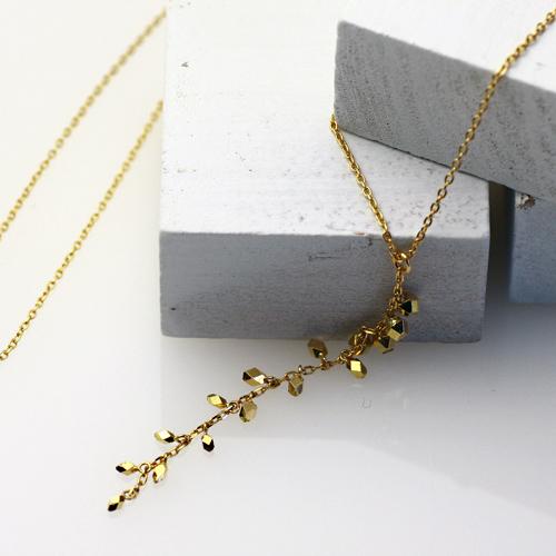 18金 ネックレス hirondelle(イロンデール)k18 hn-309 Y字ネックレス 【送料無料】 市場