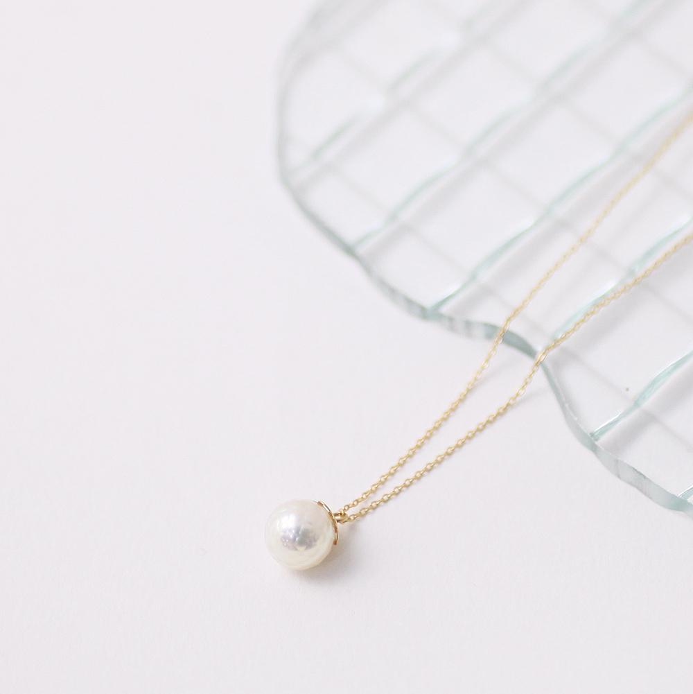 18金 ネックレス ネックレス hirondelle(イロンデール)k18 hn-332 華真珠ネックレス【送料無料】 市場