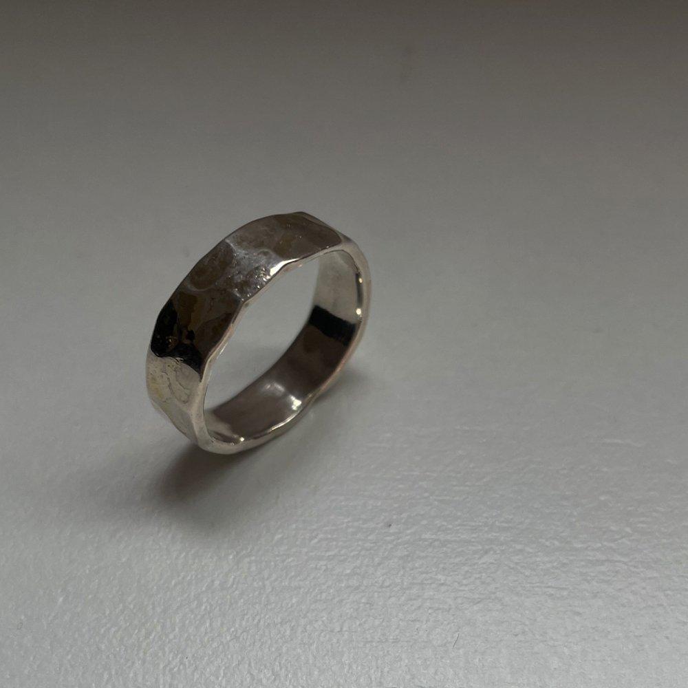 hirondelle(イロンデール)k18 /silver sr-05 プレートリング 05 S【送料無料】