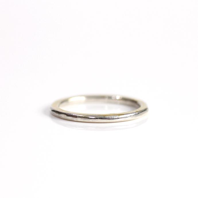 hirondelle et pepin(イロンデール エ ペパン) k18 silver sr-20-17w ペタンコプレートリング 20 M【送料無料】 市場