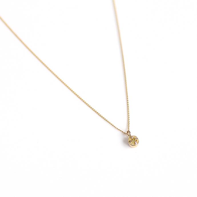 hirondelle et pepin(イロンデール エ ペパン) k18 hn-507-18s イエローダイヤ ネックレス【送料無料】 市場