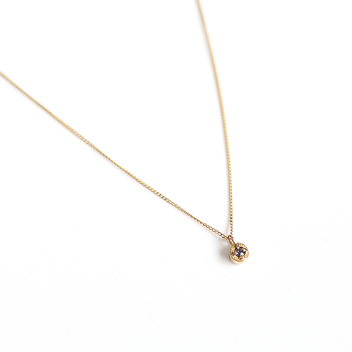 hirondelle et pepin(イロンデール エ ペパン) k18 hn-507-18s アレキサンドライト ネックレス【送料無料】 市場