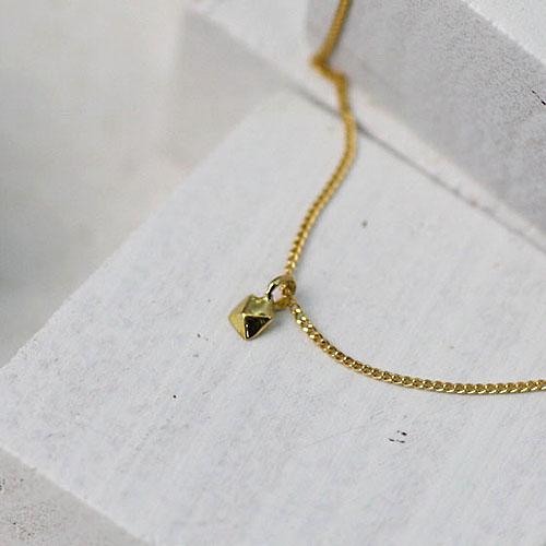 18金 ネックレス hirondelle(イロンデール)k18 hn-9s-258 1pスタッズネックレス【送料無料】 市場