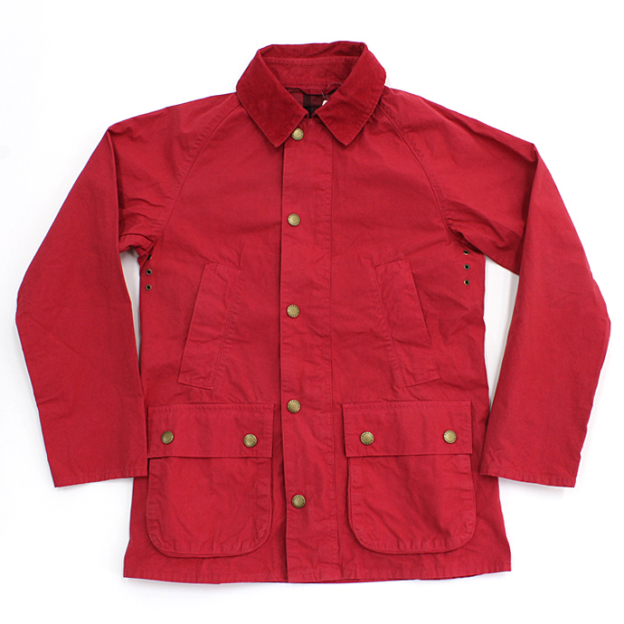 Barbour(バブアー) / BEDALE SL Overdyed ビデイルSL オーバーダイド - Red 市場