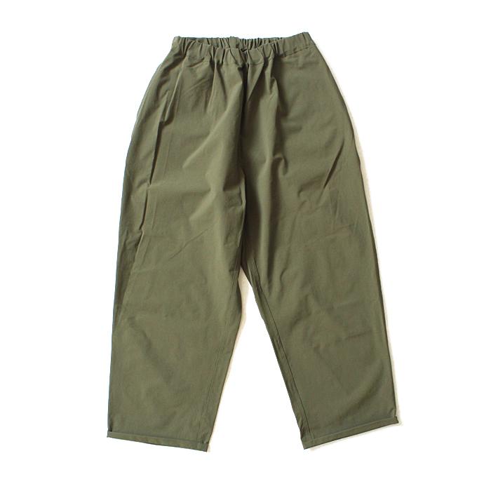 Powderhorn Mountaineering(パウダーホーン・マウンテニアリング) / Mountain Easy Pants ストレッチナイロンイージーパンツ PH19SS-006 - Olive 買い回り 買い周り 買いまわり ポイント消化