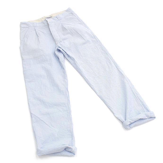 【店内全品ポイント5倍!】Taurus(トーラス)/ Seersucker EU Work Trousers シアサッカー ワークパンツ 全2色  買い回り 買い周り 買いまわり ポイント消化