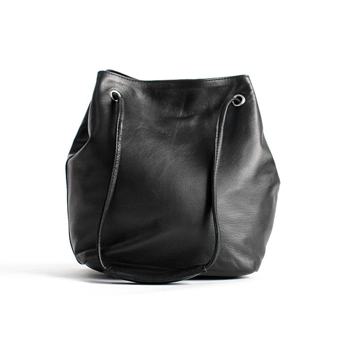 SEASIDE FREERIDE(シーサイドフリーライド)2way 巾着型 シープレザー ミニポシェット NID BAG L / 全3色