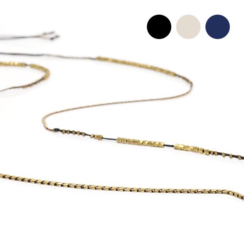 serefina(セレフィーナ)ワックスコードロングネックレス 1151/全3色 市場