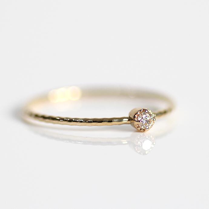 sinc(シンク) k10 極細シンプル ダイヤモンド リング■ゴールドアクセサリー 誕生日プレゼント クリスマスプレゼント シンプル 女性 指輪 10金