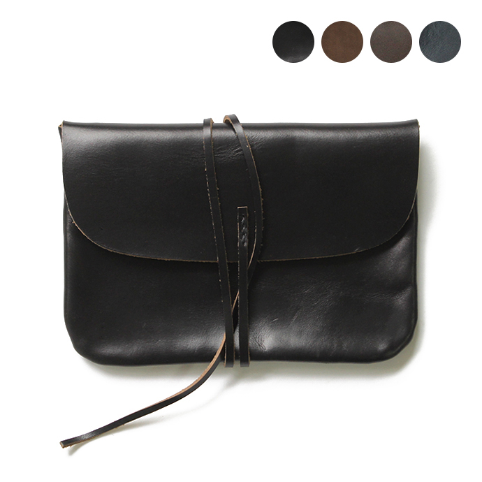 This is…(ディスイズ) / Horween Chromexcel(ホーウィン社製クロムエクセルレザー) レザーポーチL - 全4色 市場