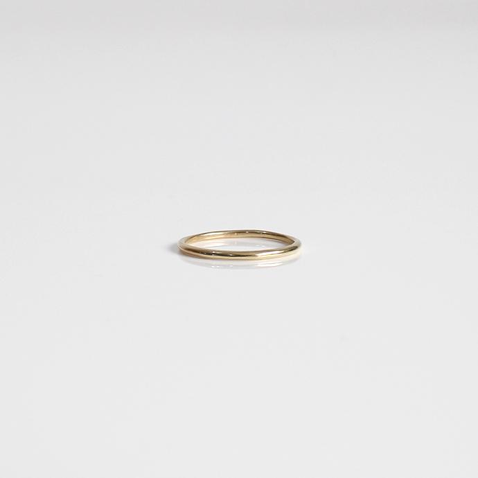 UNKNOWN.(アンノウン) k10 U001 NORM リング XS / ゴールド■10金 ゴールドアクセサリー 指輪 プレゼント ギフト シンプル ユニセックス 女性 男性 誕生日プレゼント