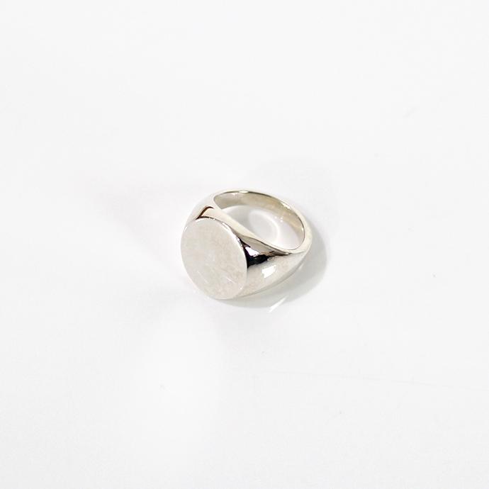 UNKNOWN.(アンノウン) silver925 U021 SIGNET リング M / シルバー■人気 おしゃれ シルバーリング 指輪 プレゼント ギフト シンプル 女性 誕生日プレゼントデイリーカジュアル